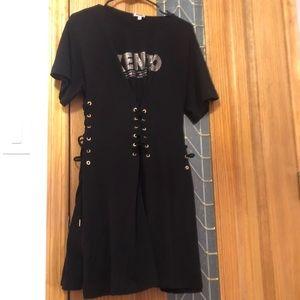 KENZO logo T shirt dress